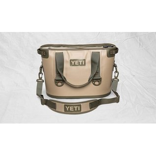 YETI YETI Hopper - Softsided Cooler - Tan/Blaze Orange - 20