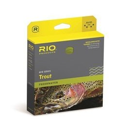 Rio Products Rio Avid Trout Pale Yellow WF3F