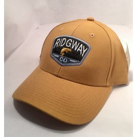 Ridgway Industrial Canvas Snap Back - Whiskey