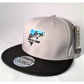 RIGS Mile High 5280 Flat Brim Snap Back - Grey/Black