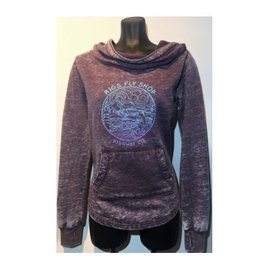 RIGS Women's Crush Pullover Hoody - Blackberry Crush