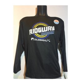 Ridgway Youth Performance L/S T-Shirt - Black