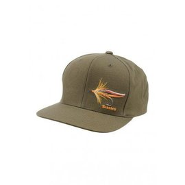 Simms Fishing Simms Cotton Twill Snapback Trout Fly - Loden