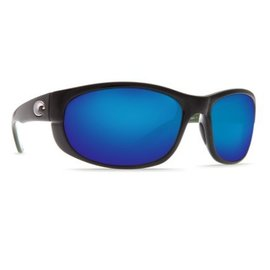 Costa Del Mar Costa Howler  - Blue Mirror - W580 - Shiny Black Frame