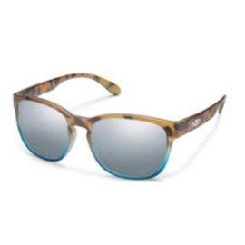 Suncloud Loveseat - Matte Tortoise Blue FD/Silver Mirror