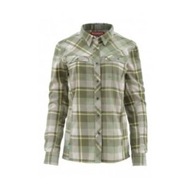 Simms Fishing Simms Women's Wool Blend Flannel - Thyme Plaid