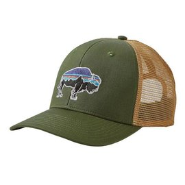 Patagonia Patagonia Fitz Roy Bison Trucker Hat - Buffalo Green/Tan