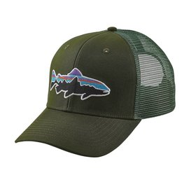 Patagonia Patagonia Fitz Roy Trout Trucker Hat - Glades Green