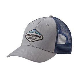 Patagonia Patagonia Fitz Roy Crest LoPro Trucker Hat - Drifter Grey