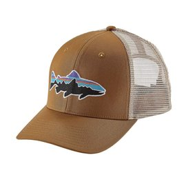 Patagonia Patagonia Fitz Roy Trout Trucker Hat - Bear Brown