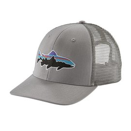 Patagonia Patagonia Fitz Roy Trout Trucker Hat - Drifter Grey