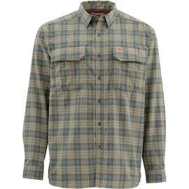 Simms Fishing Simms Coldweather Longsleeve Shirt - Timber Plaid