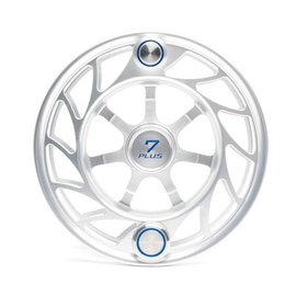 Hatch Outdoors Hatch Finatic - 7 Plus Spool - Large Arbor - Clear/Blue