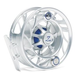 Hatch Outdoors Hatch Finatic 7 Plus - Large Arbor Reel - Clear/Blue