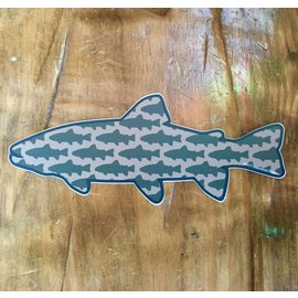Brown Trout - Colorado Trout Icon Fill Sticker