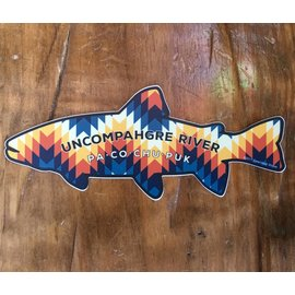 Native Trout - Uncompahgre River Sticker