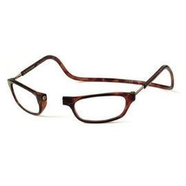 Clic Reading Glasses Tortoise/Long 3.00