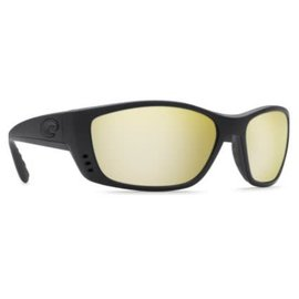 Costa Del Mar Costa Fisch Sunrise Silver Mirror - 580P - Blackout Frame (XL)