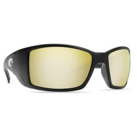Costa Del Mar Costa Blackfin Silver Sunrise - 580P - Matte Black Frame