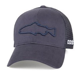 Costa Del Mar Costa Mesh Hat - Stealth Trout Navy - One Size