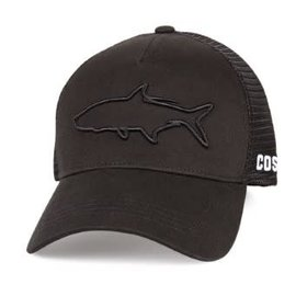 Costa Del Mar Costa Mesh Hat - Stealth Tarpon - One Size