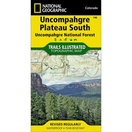 National Geographic Maps Uncompahgre Plateau  South