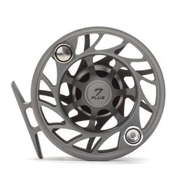 Hatch Outdoors Hatch Finatic Gen 2 - 7 Plus - Large Arbor Fly Reel - Gray/Black
