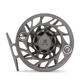 Hatch Outdoors Hatch Finatic Gen 2 - 5 Plus - Large Arbor Fly Reel - Gray/Black