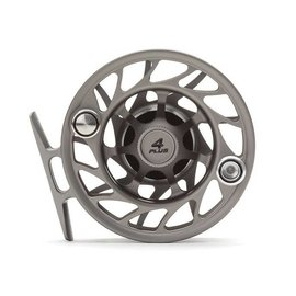 Hatch Outdoors Hatch Finatic Gen 2 - 4 Plus - Mid Arbor Fly Reel - Gray/Black