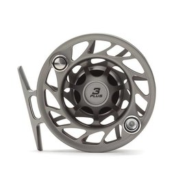 Hatch Outdoors Hatch Finatic Gen 2 - 3 Plus - Large Arbor Fly Reel - Gray/Black