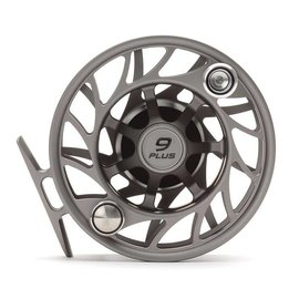 Hatch Outdoors Hatch Finatic Gen 2 - 9 Plus - Mid Arbor Fly Reel - Gray/Black