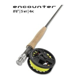 Orvis Orvis Encounter Rod/Reel Outfit - 865-4 - 4 PC - 5WT - 8'6""