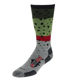 Rep Your Water Rep Your Water Socks - Rainbow Trout Skin - Large