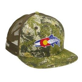 Rep Your Water Hat - Colorado Clarkii - Camo Green fdcf0bb332c5