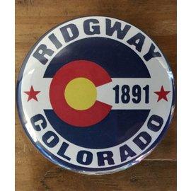Ridgway Colorado Magnet