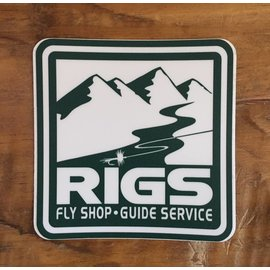 RIGS Fly Shop Sticker
