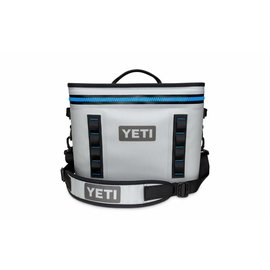 YETI YETI Hopper Flip 18 - Softsided Cooler - Fog Gray/Tahoe Blue