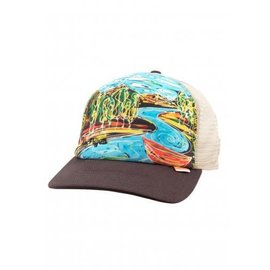 Simms Fishing Simms Artist Trucker Cap - Dripping Trees Bark
