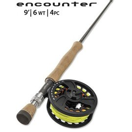 """Orvis Orvis Encounter Rod/Reel Outfit - 906-4 - 4 PC - 6WT - 9'0"""""""