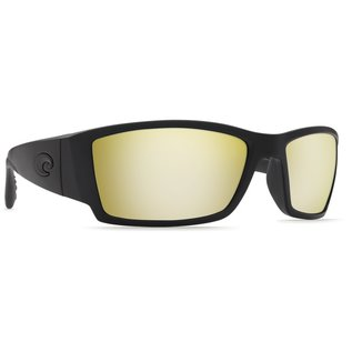 Costa Del Mar Costa Corbina Sunrise Silver Mirror - 580P - Blackout Frame (L)