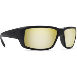 Costa Del Mar Costa Fantail Sunrise Silver Mirror - 580G - Blackout Frame (M)