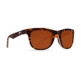 Costa Del Mar Costa Copra Copper - 580P - Shiny Retro Tortoise/Cream/Salmon (M)