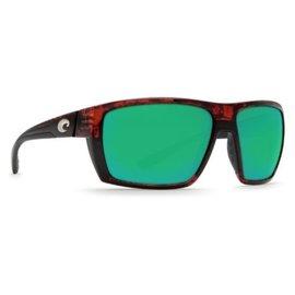 Costa Del Mar Costa Hamlin Green Mirror - 580G - Tortoise Frame (XL)