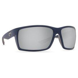 Costa Del Mar Costa Reefton Silver Mirror - 580G - Blackout Frame (L)