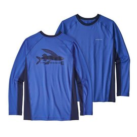Patagonia Boys' Long Sleeve SW Rashguard