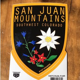 San Juan Mountains Sticker