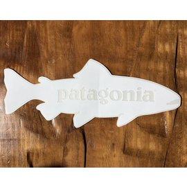Patagonia Patagonia Trout Sticker White