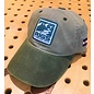 RIGS Logo Cap - Khaki/Conifer - Full Cloth