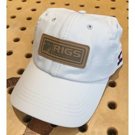 RIGS Performance Cap Leather Patch - Putty