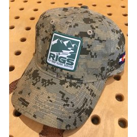 RIGS Logo Digital Camo Cap - Digital Grey/Sand